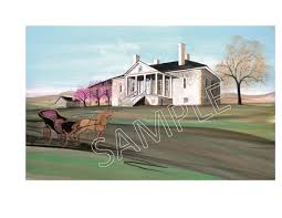 Belle Grove Barns Print Signing With P Buckley Moss Visit Winchester