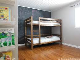 Plans For Wooden Bunk Beds by Building A Bunk Bed Our Home Notebook