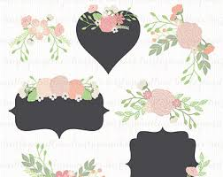 wedding flowers png vector wedding floral elements clip illustrated
