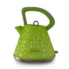 Morphy Richards Toaster Yellow Prism 108105 Prism Kettle In Green By Morphy Richards Kitchen