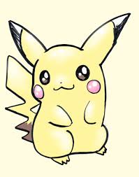 Drawing Games Pokemon Characters Draw Pikachu Easy Another Very Popular Face
