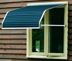 Aluminium Window Awnings Blue Aluminium Awning Windows With Wood Mirror Window And Simple