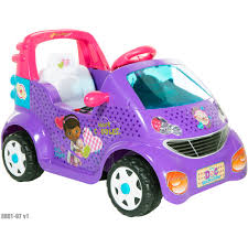 Doc Mcstuffins Home Decor Doc Mcstuffins 6 Volt Small Car Ride On Walmart Com