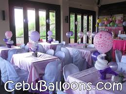 Purple Centerpieces Pink U0026 Purple Centerpieces At Monterrazas De Cebu Cebu Balloons
