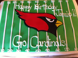 20 best cardinals cakes images on arizona cardinals