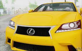 lexus sports car f series lexus gs 350 f sport series iv for gta san andreas