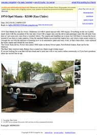 1975 opel manta for sale for 2 100 be down with the manta