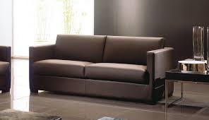 contemporary leather sofa for your home elegant furniture design