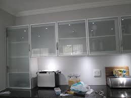 Kitchen Cabinet Door Glass Inserts This Kitchen Is Incorporating Aluminium Frame Cabinet Doors With