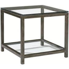 square glass end table artistica per se square metal beveled glass end table with one
