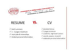 v cv cv vs resume how to write a resume