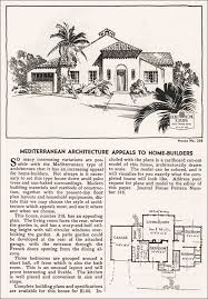 vintage house plans 1935 eclectic spanish mediterranean style