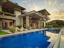 Dream House On The Beach - swimming pool in the gorgeous modern stone house on the beach