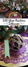 diy glam christmas tablescape cricut holidays and craft