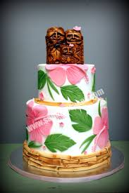 hawaiian themed wedding cakes luau wedding cakes picture ideas references