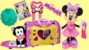 disney jr minnie mouse happy helpers pet cat bag carrier figaro