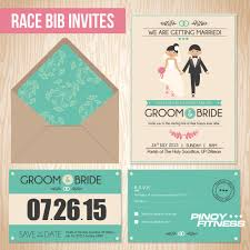 filipino wedding invitations 5 wedding ideas for running couples pinoy fitness