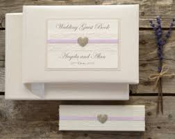 ivory wedding guest book guest book etsy