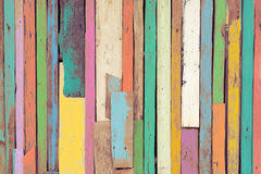 painted wood artwork pastel colorful rainbow painted wood planks stock image image