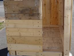 How To Build A Shed Out Of Wooden Pallets by My First Pallet Project Building A Chicken Coop Youtube