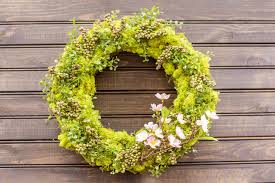 how to create a spring door wreath diy network blog made