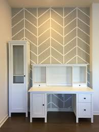 wall paint patterns diy herringbone pattern accent wall with paint and painters tape