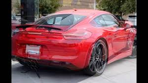 carmine red porsche 2016 porsche cayman carmine red youtube