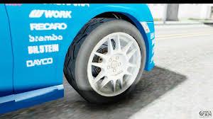 subaru rally wheels subaru brz rally for gta san andreas