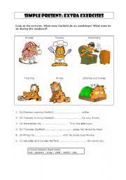 worksheet simple present third person