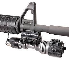 ar 15 light mount blam2 ar15 m16 bayonet lug accessory mount custom defensive products