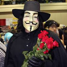 Halloween Costume Wholesale Vendetta Mask Halloween Party Mask Anonymous Guy
