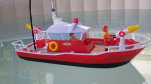 feuerwehrmann sam fireman sam r c titan boat dickie toys