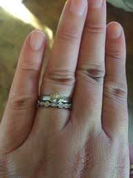 which wedding band with a marquise solitaire weddingbee