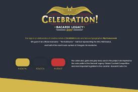 celebration bacardi cocktail branding on behance
