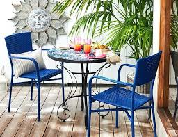 small patio table with 2 chairs small balcony table and chairs shop this look small outdoor table