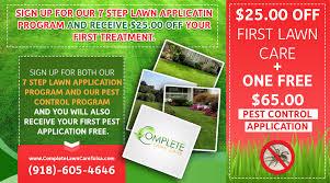 lawn care service tulsa ok landscape maintenance complete