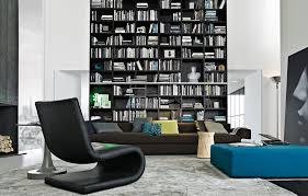 contemporary bookshelves designs huge 1 modern wall bookshelves