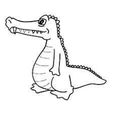 25 free printable alligator coloring pages