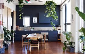 Cuisine Scandinave Design by Indogate Com Salon Bleu Scandinave