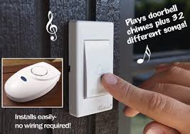 wireless musical chime doorbell from collections etc
