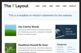 understanding the f layout in web design
