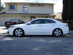 slammed tsx suspension gallery 2nd gen pics and specs only acura tsx forum