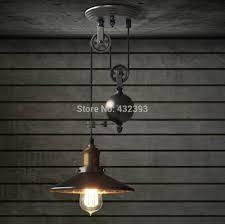 industrial pulley pendant light rh loft industrial pulley pendant lights lshade with mirror