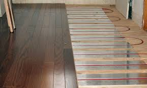 heated floors wood laminate