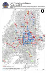 City Of Atlanta Map by Cycling Improvements Come To Nearby Neighborhoods