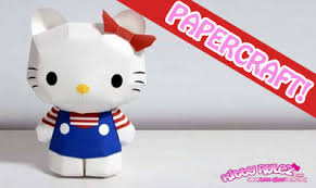kitty pritable 3d paper model review download