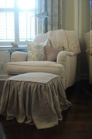 Round Back Chair Slipcovers Ottoman Breathtaking Wing Back Chair Covers With Regard To