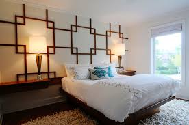 wall pattern for bedroom teak wall pattern and platform bed transitional bedroom