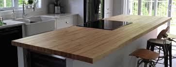 ilot cuisine bois massif table de cuisine en bois massif trendy table de cuisine en bois