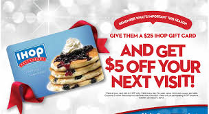 ihop gift cards ihop gift card promotion family finds